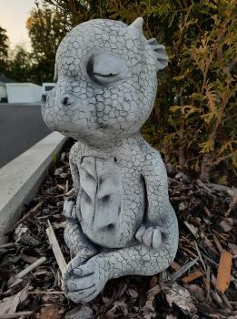 Gartenfigur Drache Yogi