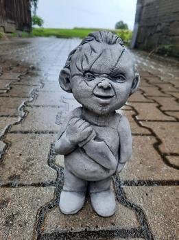 Gartenfigur Gartenkiller Chucky