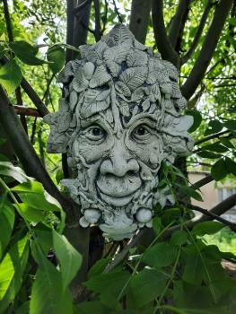 Gartenfigur Greenman Raglan