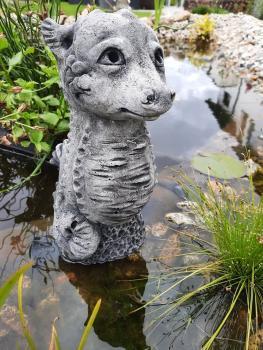 Gartenfigur Seepferdchen Tati