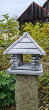 Gartenfigur Vogelhaus